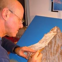 Herstellung | Bilder aus Mineralien