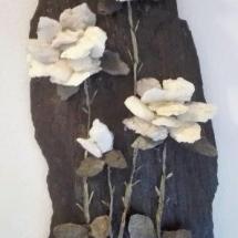 Rosen aus Quarz und Schiefer